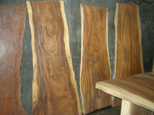 RAW Acacia Tropical Hard Wood available in many different sizes and cuts