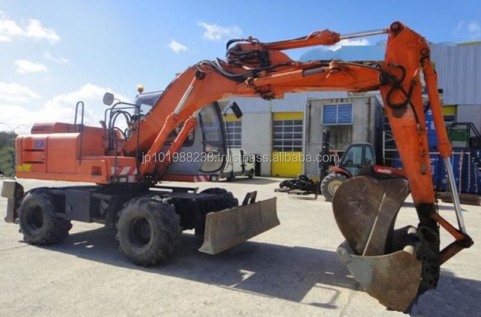USED MACHINERIES - FIAT-HITACHI EX 135 W WHEEL EXCAVATOR (8090304)