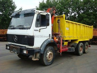 USED TRUCKS - MERCEDES-BENZ 2629 6X4 TIPPER (LHD 4981 DIESEL)