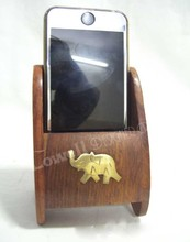 WOODEN PHONE STAND/ WOODEN VISITING CARD HOLDER