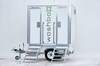 Woshbox Mark V Portable Toilet Trailer