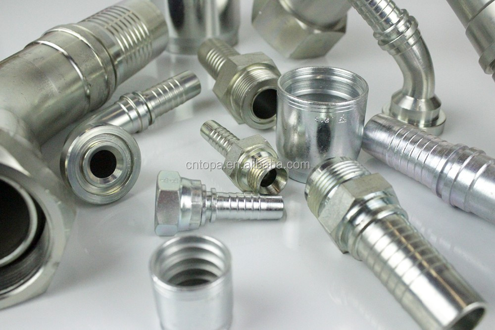 Forged Technics and Reducing Shape Hydraulic hose fittings