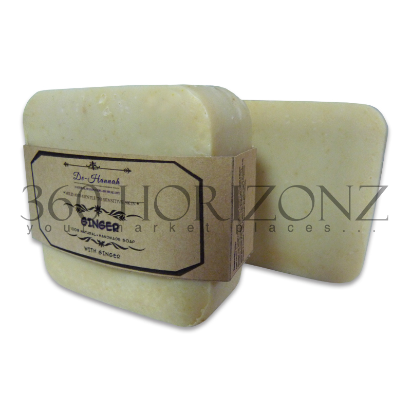 100% Natural / Beauty Natural Handmade Soap / Ginger Handmade soap