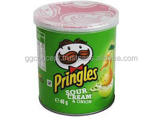 Pringles Sour Cream $ Onion chips 42g