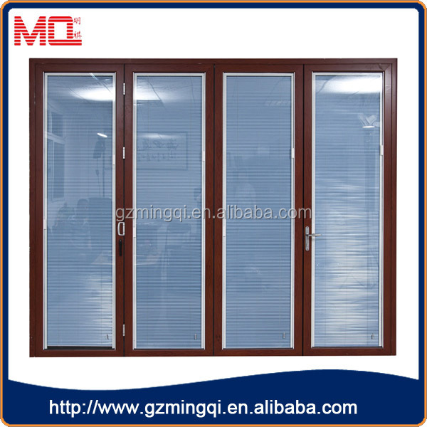 China Aluminum Double Tempered Glass Doors Interior Without Bottom Frame View Aluminum Double