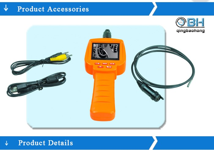OEM factory auto high resolution diagnostic instrument borescope