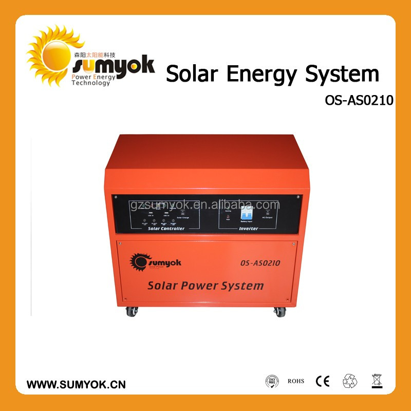 factory price 1000w Modified sine wave portable solar energy generator