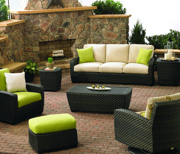 New Style 2016 poly rattan furniture sofa sets