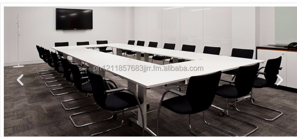 customize conference tables laminated or tempered glass