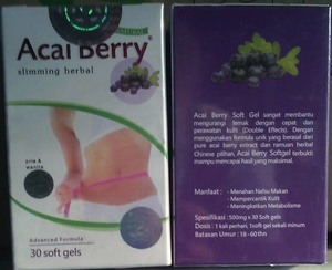 BERRY ACAI For SLIMMING BODY