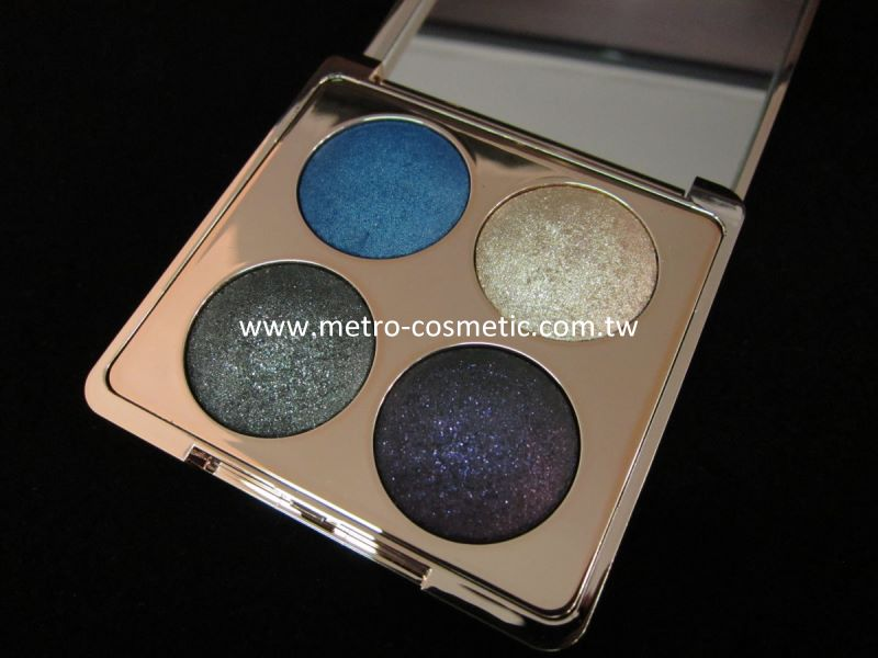 unique makeup cosmetic 4 color Moondust Intensity Baked Eyeshadow palette