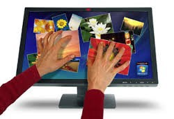 Multi Touch Touch screen Monitor