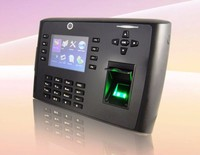 zk iclock 700 biometric fingerprint reader with build-in camera with battery backup