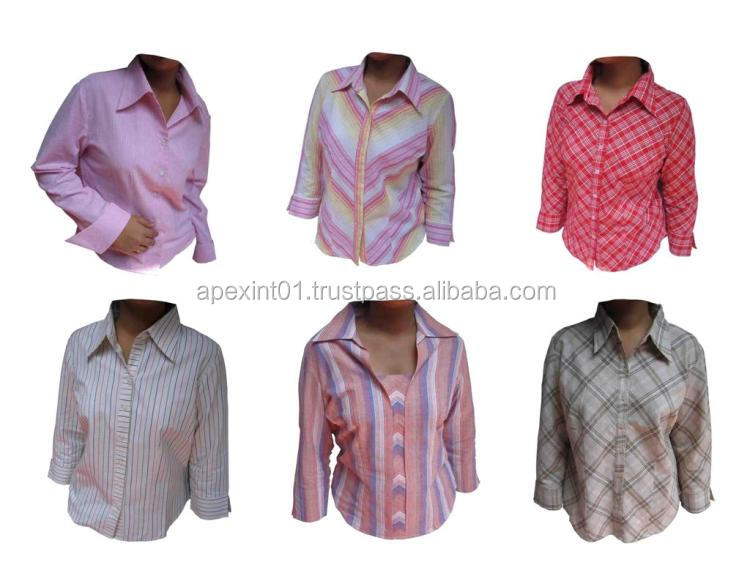 Different colors wholesale women blank formal mens dress shirts in bulk