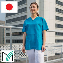 japanese polyester high quality scrub suits for nurses with all necessary functions