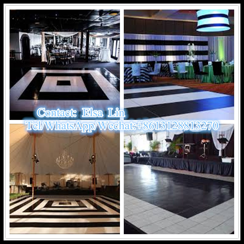 2015 china largest manufacturer wholesale dance floor material build your own for wedding party big event