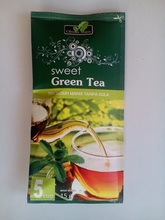 Stevia Dry Leaves / Leaf Pure & Natural With Green Tea in Sachet Packing
