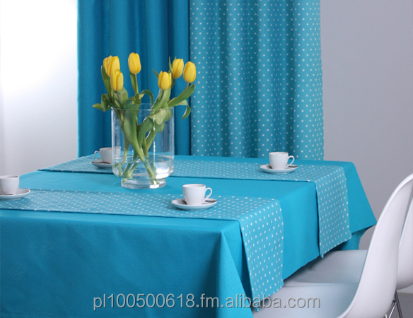 table cloth, hosale tablecloth, spanish style tablecloth, wholesale polka tablecloth