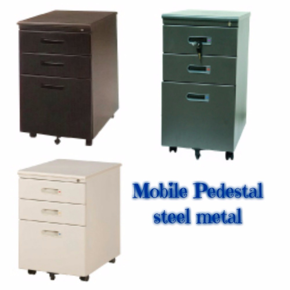 Mobile Pedestal Steel Metal