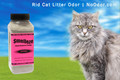 SMELLEZE Eco Cat Litter Odor Removal Additive: 50 lb. Granules Get Poop & Pee Stench Out Safely