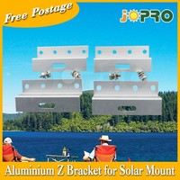 AU Stock Z Bracket Mount Easy - suit for big solar panel 4 for 1set