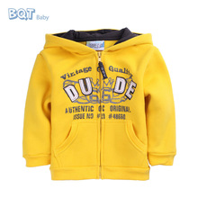 Popular Winter Designs Sport Sweatshirts Front Pockets Baby Boys Cheap Hoodie
