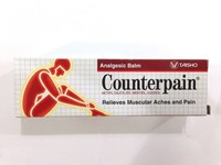 Counterpain Hot Analgesic Balm For Relieves Muscular Aches & Pain 30G 60G 120G
