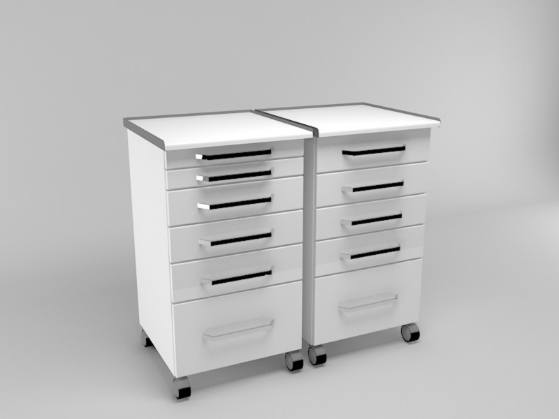 Dental Clinic Twin cabinet equipment