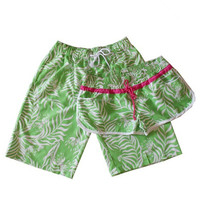 ladies-summer-boardshorts-embroidery-weed-printed-women-short-men-sport-swimming-beach-board-shorts-mujer-man