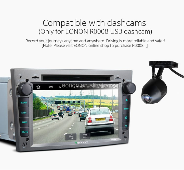 EONON GA6154F for Opel /Vauxhall /Holden Android 5.1.1 Lollipop 7 inch Multimedia Car DVD GPS with Mutual Control EasyConnection