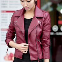 new type formal jacket Ladies' leather jacket women clothes fun clothes for women
