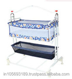 Newest Metal Swinging Design Baby Cribs Baby Cot Bed Baby Compact Cradle Sdx