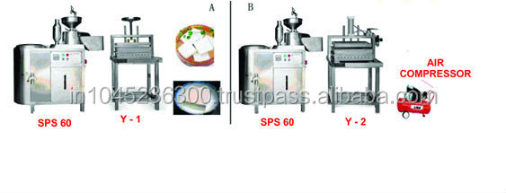 Complete Soya Milk plant / Soya Milk Making Machine(SPS-60)
