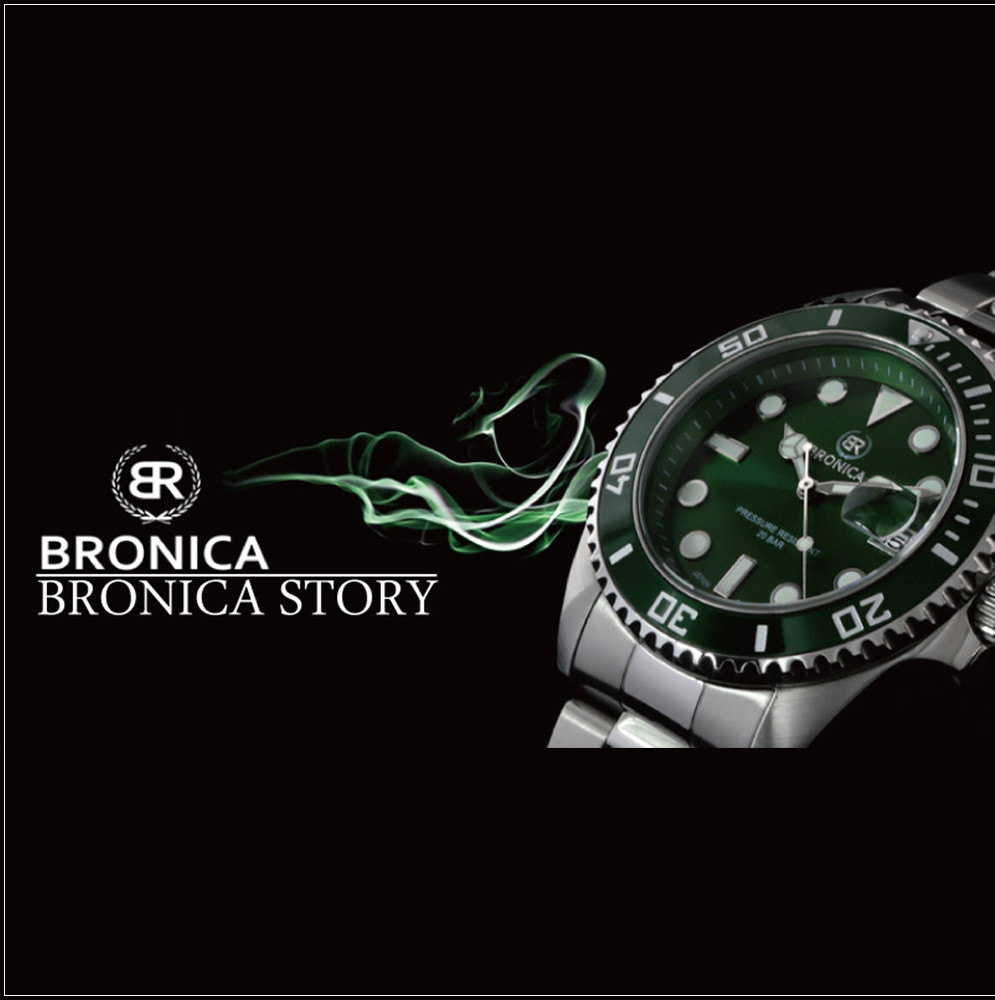 Easy to use and Fashionable BRONICA Analog Wristwatch Watch at reasonable prices , OEM available