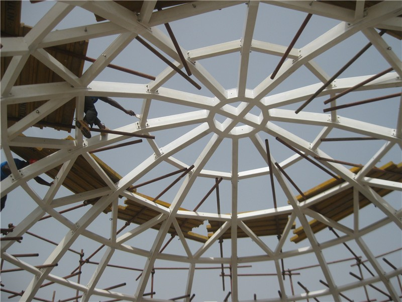 Light Steel Structure Roof Skylight With Section Aluminum