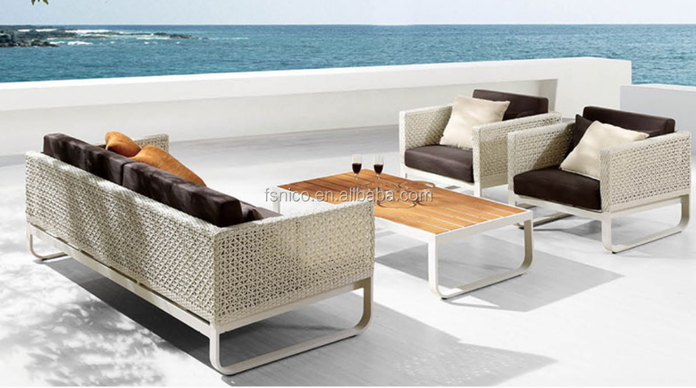 All-weather Wicker sofa Outdoor Sofa