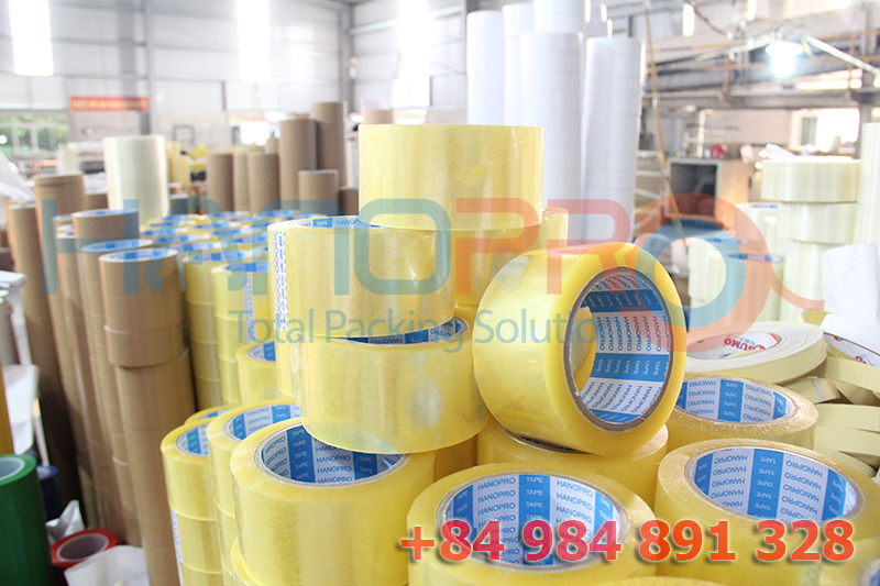 PSA Single sided adhesive packing tape for sealing boxes