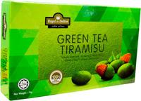 Pure 100% Chocolate Green Tea Tiramisu with Almond Nut