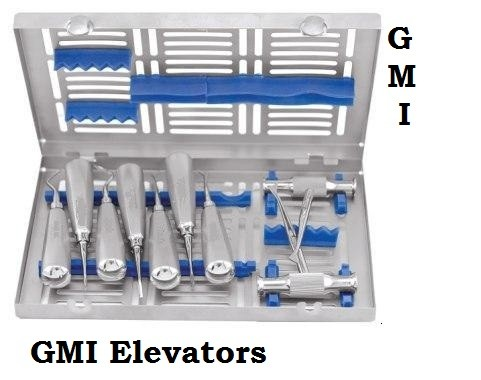 GM Implant Scaler & Curettes Set Lightweight Hollow Handle TITANIUM A+ Quality