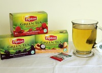 LIPTON GREEN TEA, FLAVORED GREEN TEA