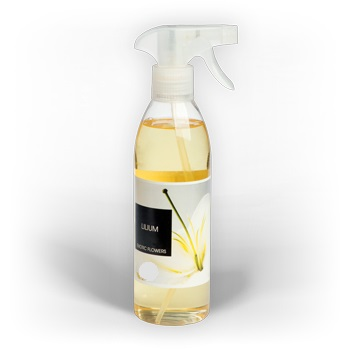 Freshener For Textile And Fabric, With Lily. Private Label Available. Made in EU