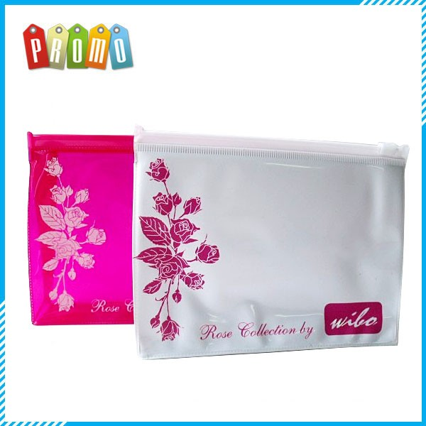 Hot sale promotional custom clear pvc cosmetic bag
