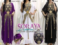 abaya jalabiya farasha moroccan kaftan with beautiful embroidery and beads