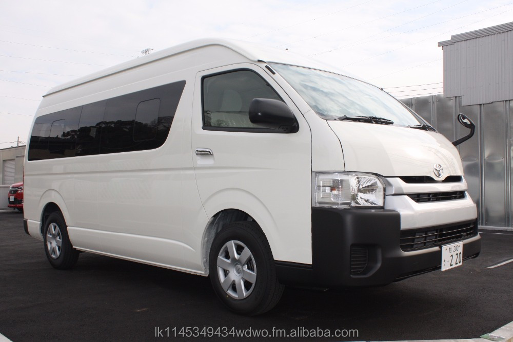 2017 Toyota Hiace Commuter 14-Seater Van Japan