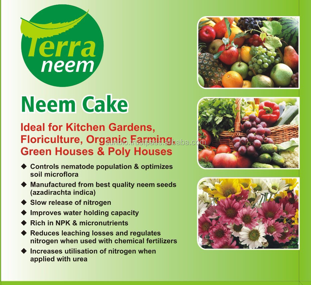 Sun Bio Organic Best Price Neem Cake Fertilizer ; Organic Fertilizer