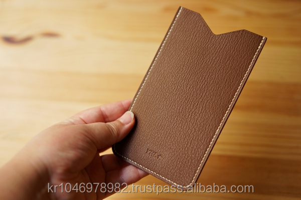 Korean Style Cell Phone Case ( Mobile Phone Case ) BAMBOLA GENUINE LEATHER