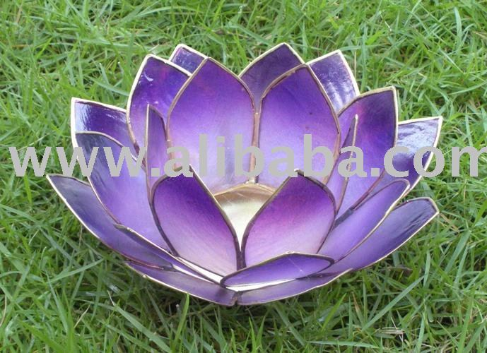Capiz Handicraft / Handmade Gift / Capiz Shell Tealight Holder