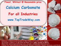 High Purity Very White Calcium Carbonate Lumps