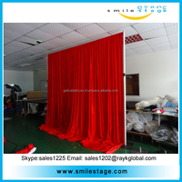 xxxx photo booth stands aluminum telescopic pipe an drape for sale