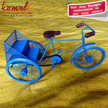 Miniature Bicycle Model Type Iron Rickshaw Toy of Miniature Bike